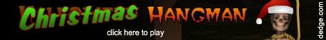 Christmas Hangman created by The Dimension's Edge, Inc.
