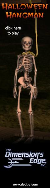 Halloween Hangman created by The Dimension's Edge, Inc.
