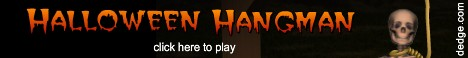 Halloween Hangman created by The Dimension\'s Edge, Inc.
