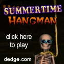 Summertime Hangman created by The Dimension's Edge, Inc.