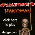 Valentine Hangman created by The Dimension's Edge, Inc.